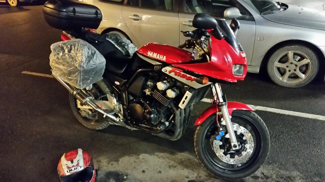 2000 Yamaha FZS 600 Fazer