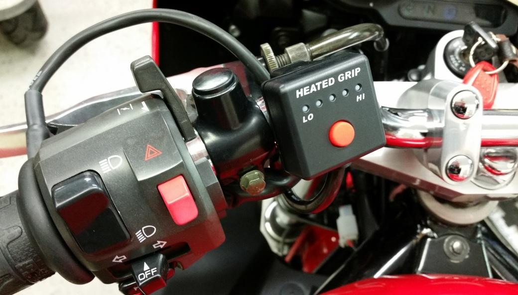 Grip heater controller
