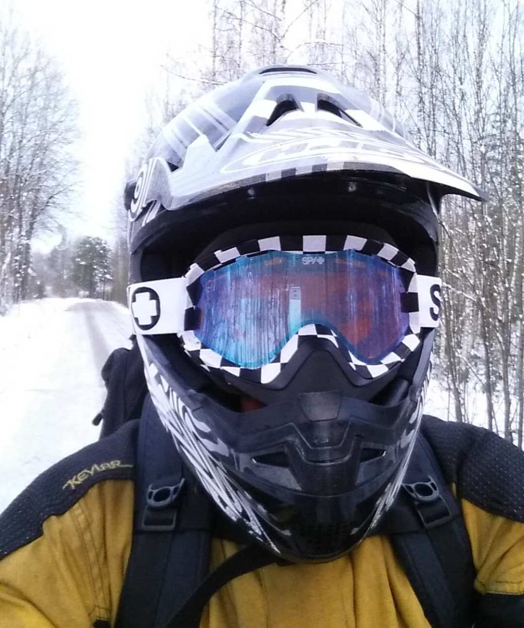 Motocross and Snowmobile