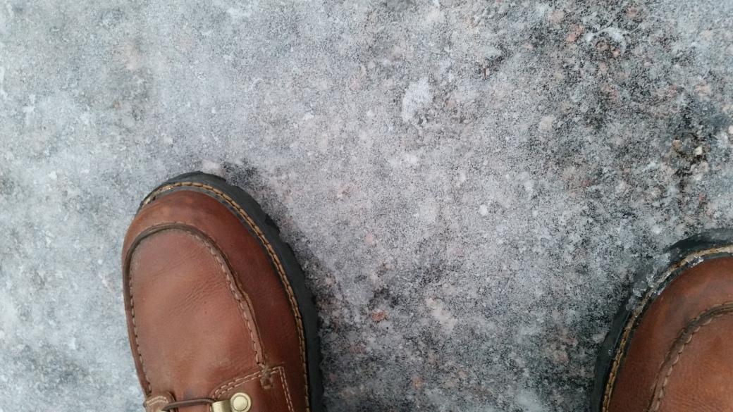 Ice on the street 4